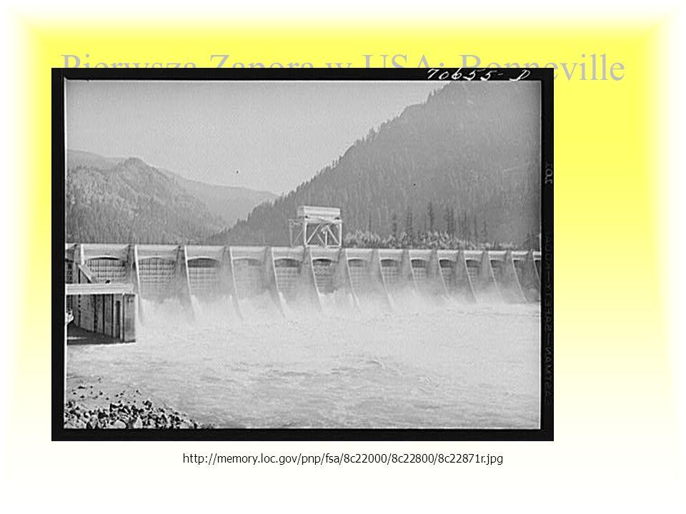 Pierwsza elektrownia wodna Appelton, Wisconsin. 1882. Fox River Hydroelectric Plant. http://www.crmeyer.com/17A-FoxRiverPaperHydro.jpg