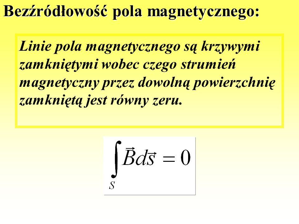 Strumień magnetyczny S normalna