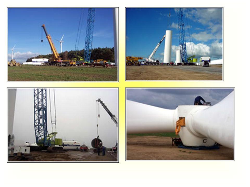 Budowa farmy Zagórze Stworzenie infrastruktury Budowa podziemnych linii kablowych Wykonanie fundamentów 5260 metrów drutu zbrojeniowego 6750 m3 betonu