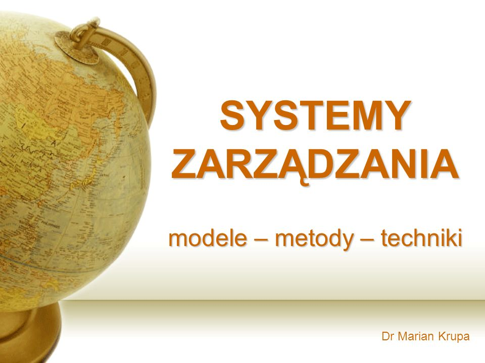 Agenda: 1.Analiza wartości – jaką wartość ma system.