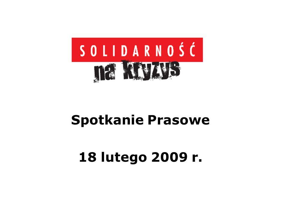 Kryzys w Polsce 160 tys.osób straciło pracę od końca grudnia do końca stycznia br.