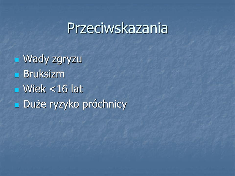 Piśmiennictwo 1.S.Majewski,,Rekonstrukcja zębów uzupełnieniami stałymi wyd.2 uzupełnione.