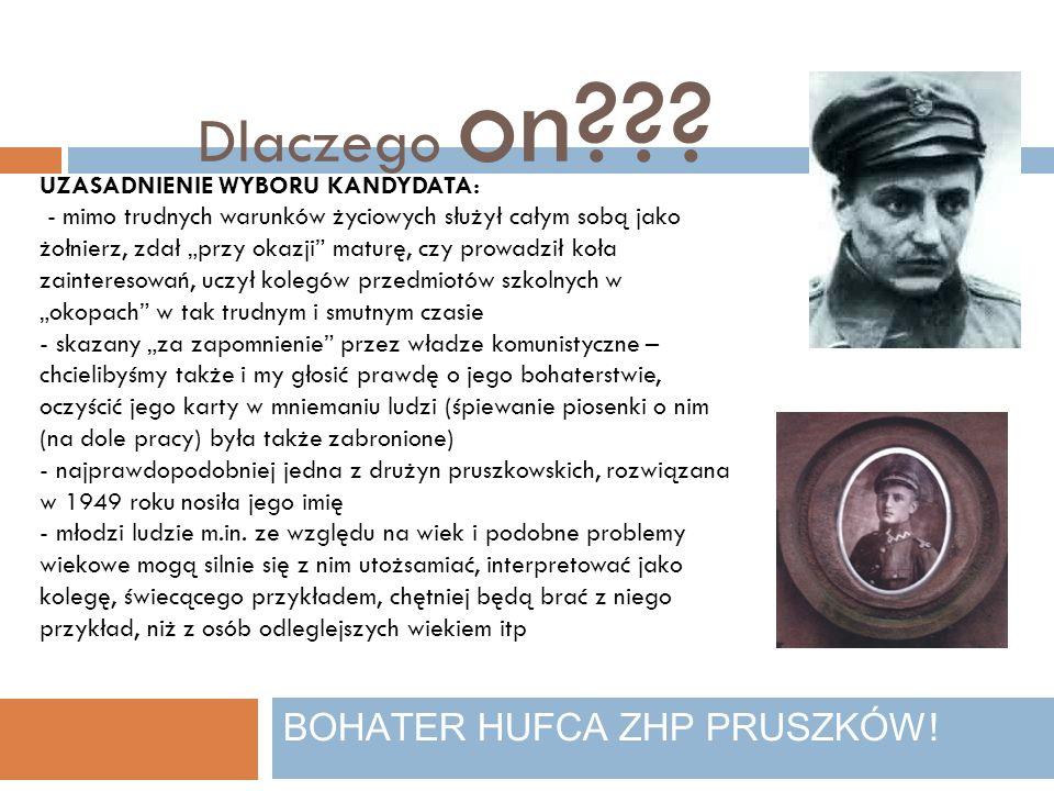 PŁK.LEOPOLD LIS-KULA BOHATER HUFCA ZHP PRUSZKÓW.