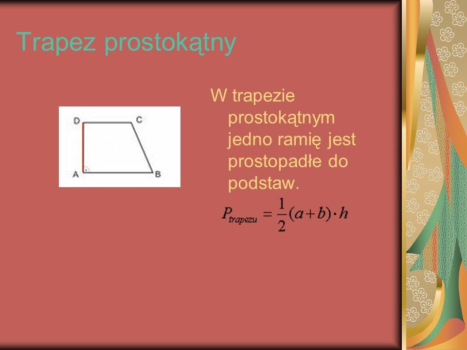 Deltoid W deltoidzie dwie pary sąsiednich boków (zaznaczanych na rysunku) są równe.