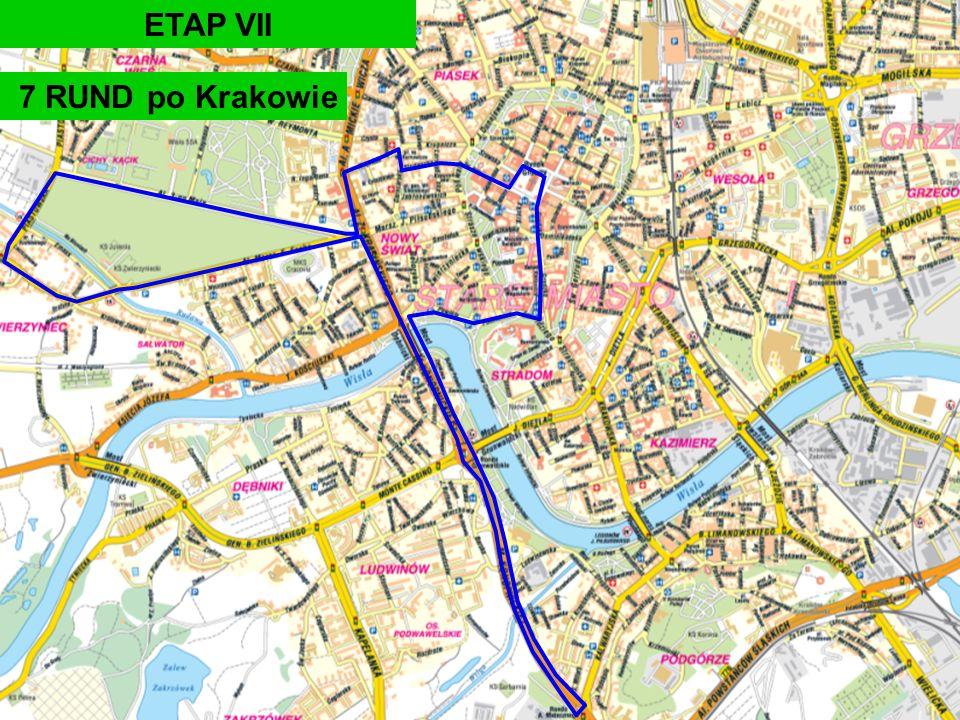 7 RUND po Krakowie ETAP VII