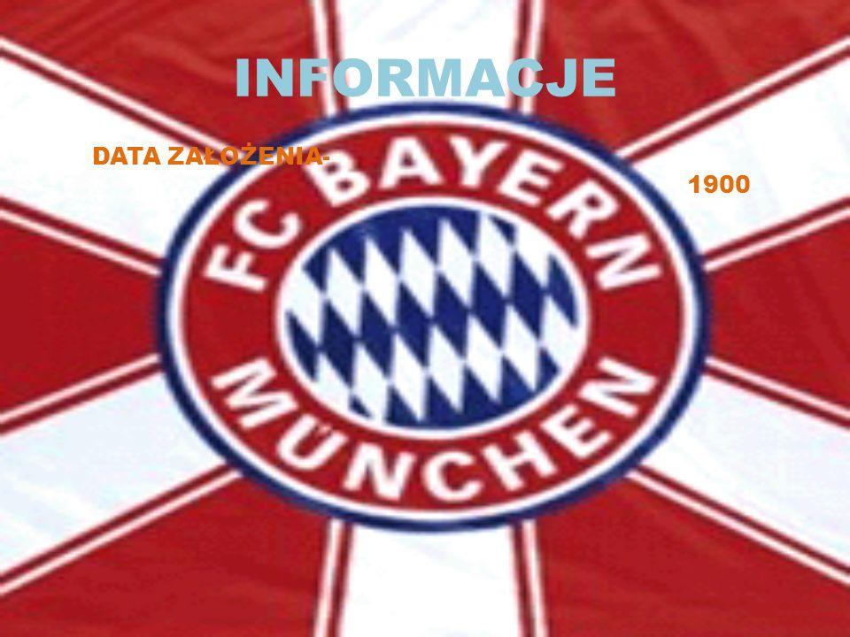 INFORMACJE PEŁ.NAZWA:FUbBALL CLUB BAYERN MUNCHEN