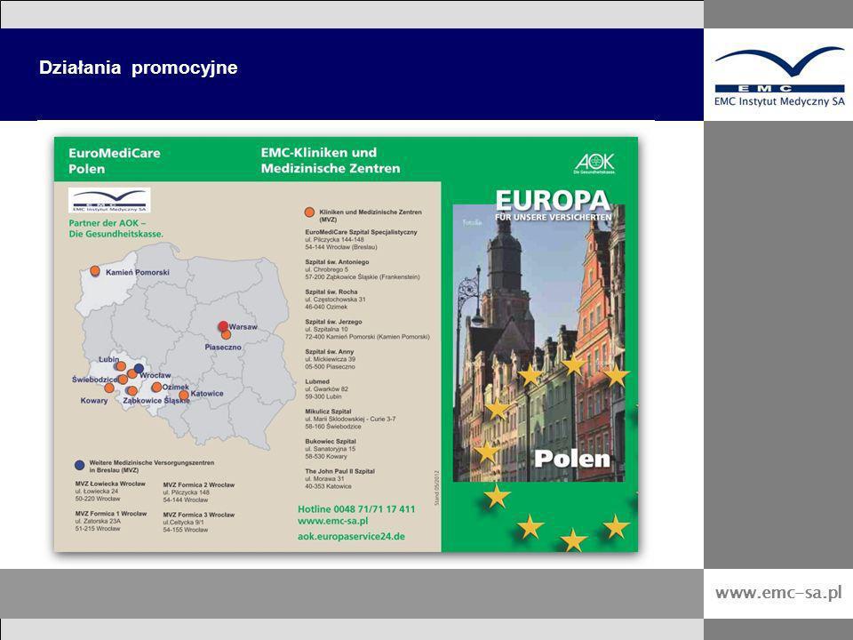 www.emc-sa.pl Działania promocyjne