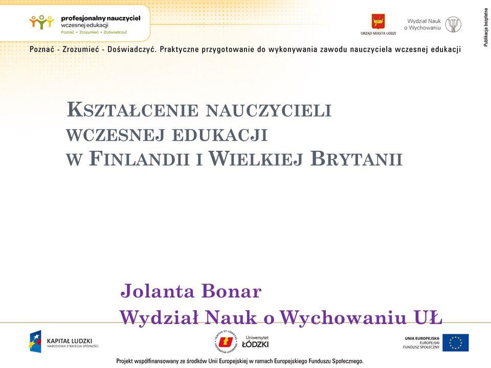 University of Eastern Finland, 4 – letnie studia licencjackie dzieli organizowane przez siebie praktyki na cztery rodzaje.