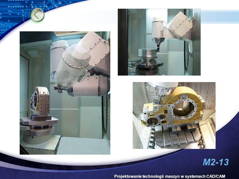 M2-13 Projektowanie technologii maszyn w systemach CAD/CAM