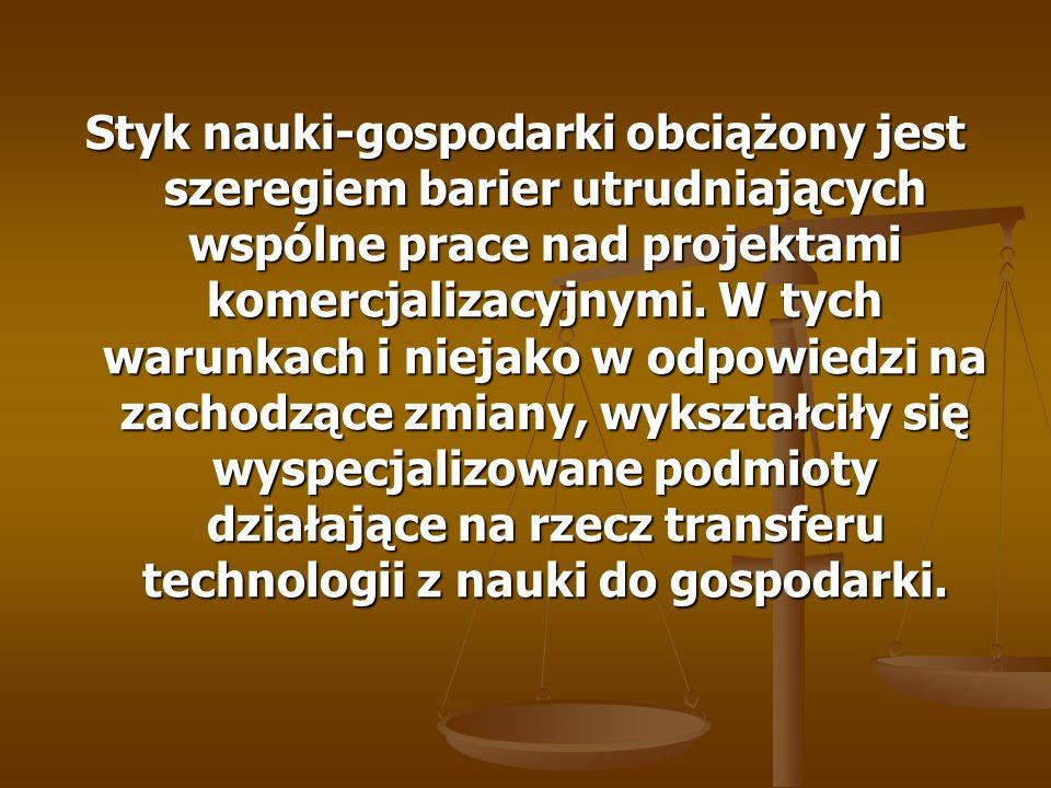 Instytucje Wsparcia (ośrodki innowacji i przedsiębiorczości) – wyspecjalizowane lokalne i regionalne instytucje o niedochodowym charakterze realizujące programy wsparcia przedsiębiorczości, transferu i komercjalizacji technologii oraz poprawy konkurencyjności.