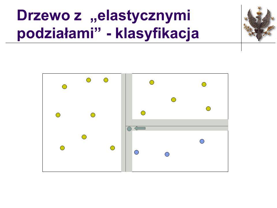 Drzewo z elastycznymi podziałami - klasyfikacja