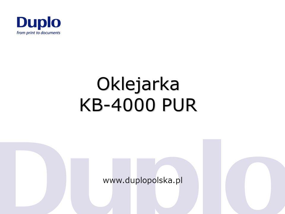 Cechy produktu KB-4000 PUR 2 rozwiązania w 1 urządzeniu 3