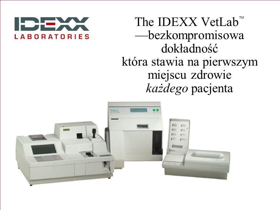 The IDEXX VetLabbezkompromisowa dokładność która stawia na pierwszym miejscu zdrowie każdego pacjenta