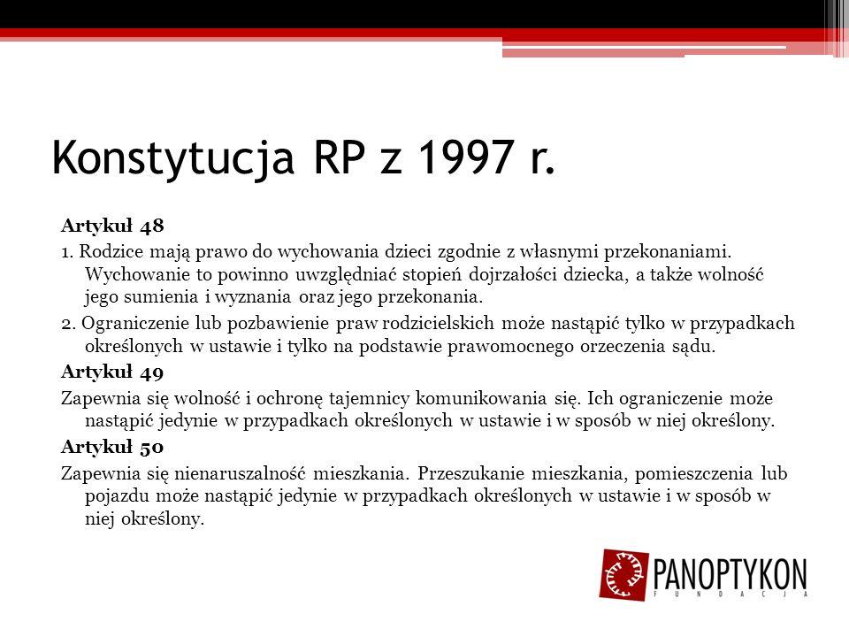 Konstytucja RP z 1997 r.Artykuł 51 1.