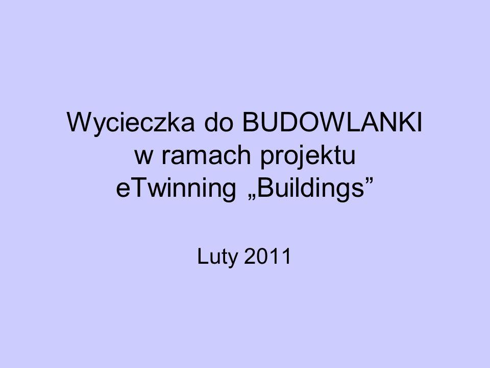 Wycieczka do BUDOWLANKI w ramach projektu eTwinning Buildings Luty 2011