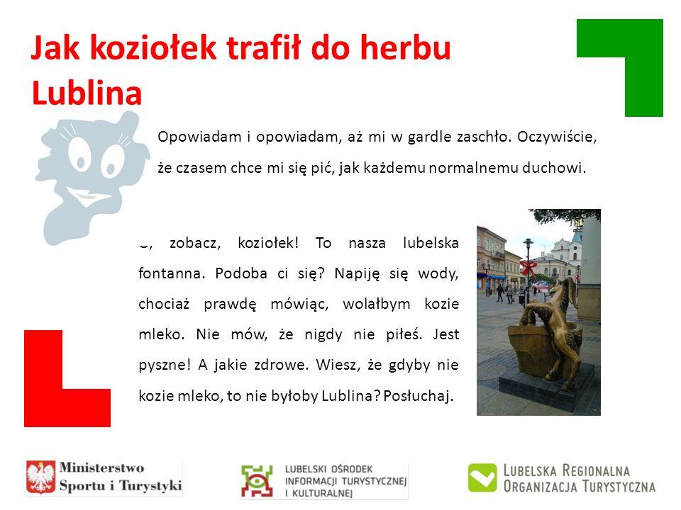 Jak koziołek trafił do herbu Lublina Dawno, dawno temu, w czasach, których nie pamięta nawet twoja praprapra-babcia, a nawet jej babcia, Tatarzy napadli na ludzi, którzy mieszkali w tej okolicy.