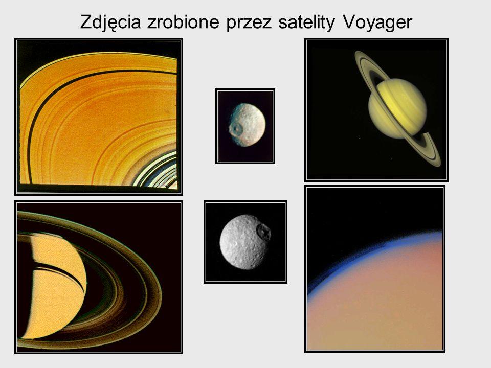 Zdjęcia zrobione przez satelity Voyager