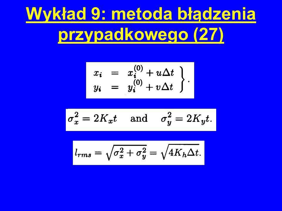 Wykład 9: metoda błądzenia przypadkowego (27)