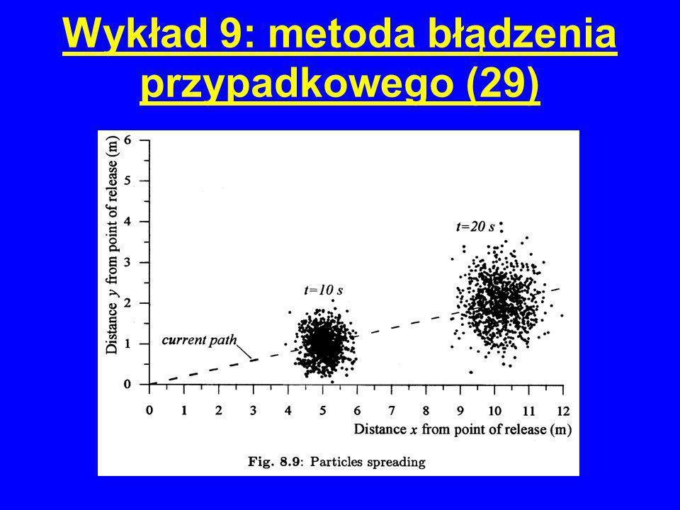 Wykład 9: metoda błądzenia przypadkowego (29)