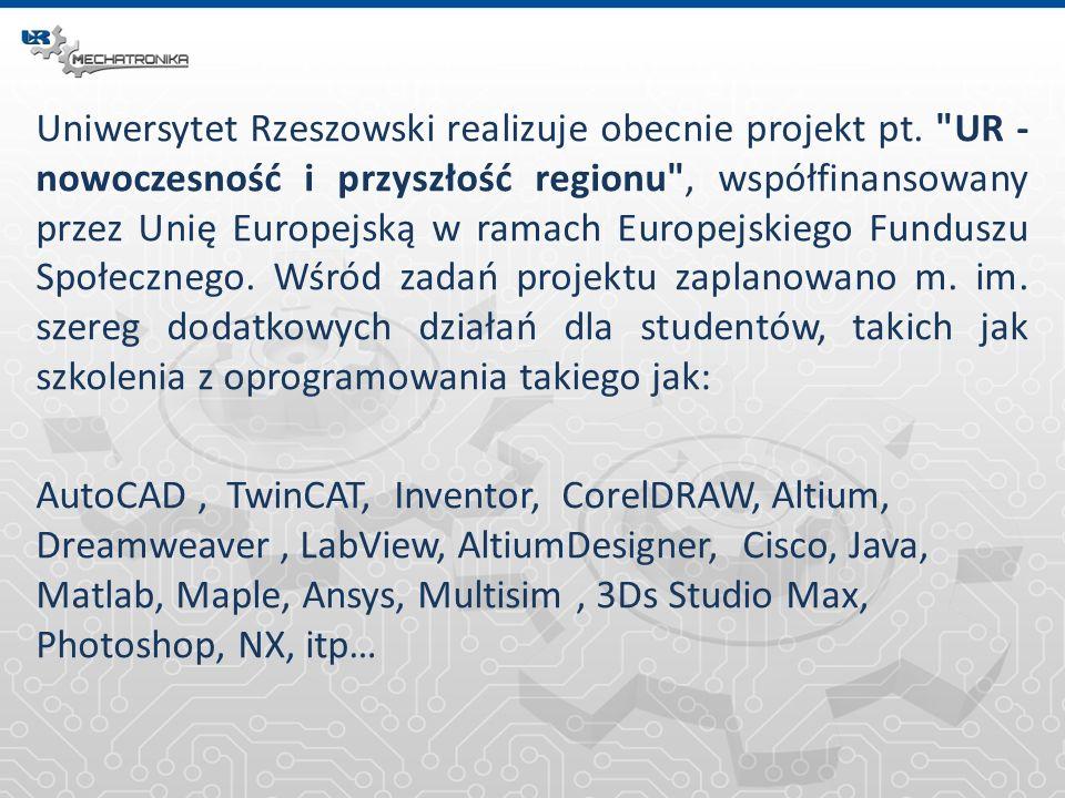 Linki Autodesk www.autodesk.pl Altium www.altium.com Mathworks www.mathworks.com National Instruments www.ni.com Ansys www.ansys.com NX www.plm.automation.siemens.com/en_us/products/nx/index.shtml Cisco www.cisco.pl