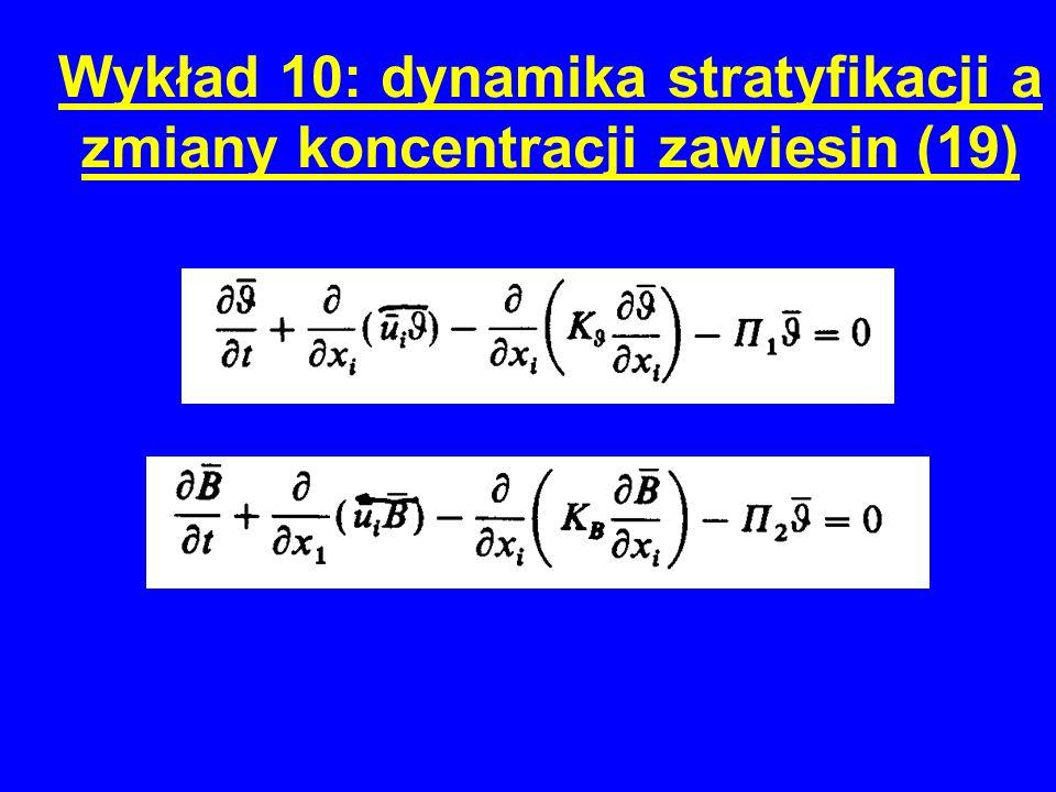 Wykład 10: dynamika stratyfikacji a zmiany koncentracji zawiesin (19)