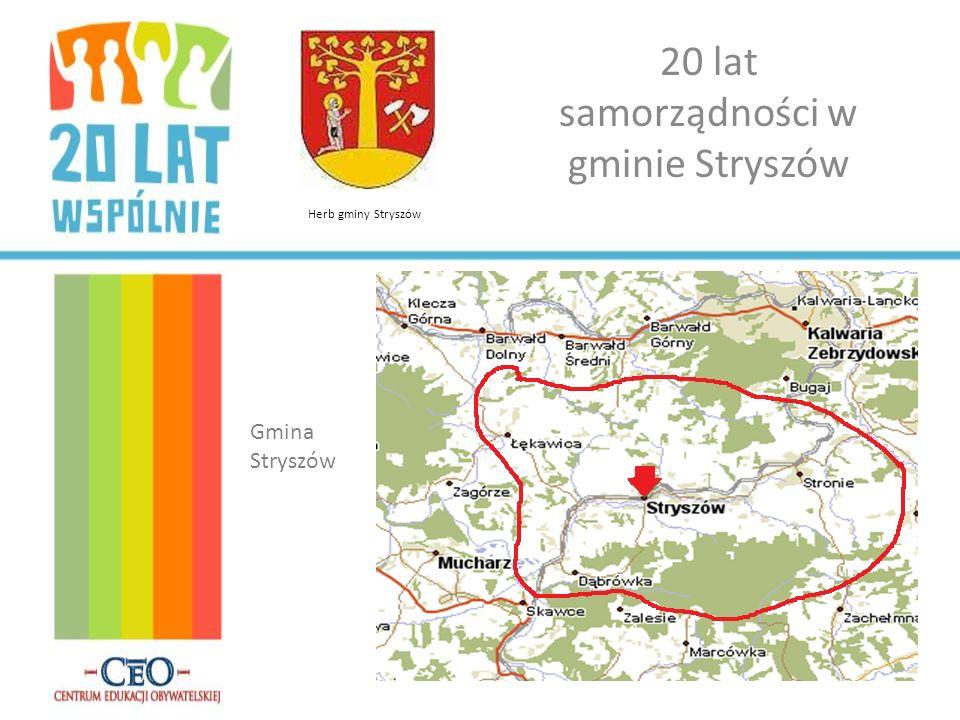 20 lat samorządności w gminie Stryszów Gmina Stryszów Herb gminy Stryszów