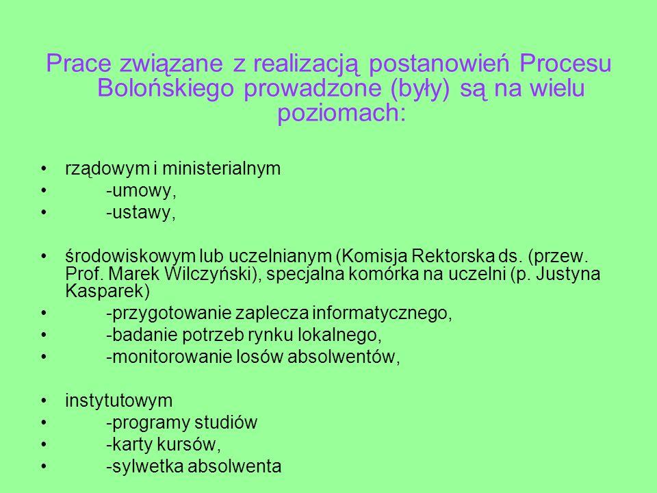 Skład zespołu ds.opracowania opisu efektów kształcenia dla obszaru nauk ścisłych Prof.