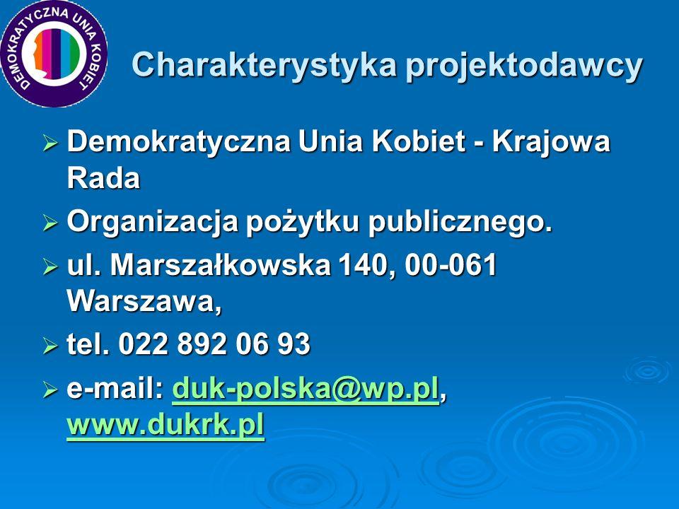 Partnerzy projektu Projekt nie przewidywał partnerstwa formalnego, w działaniach aktywnie będzie uczestniczyło 7 gmin z województwa kujawsko-pomorskiego.