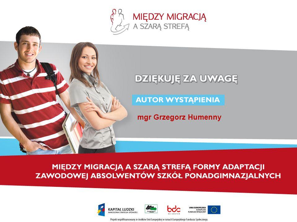 mgr Grzegorz Humenny