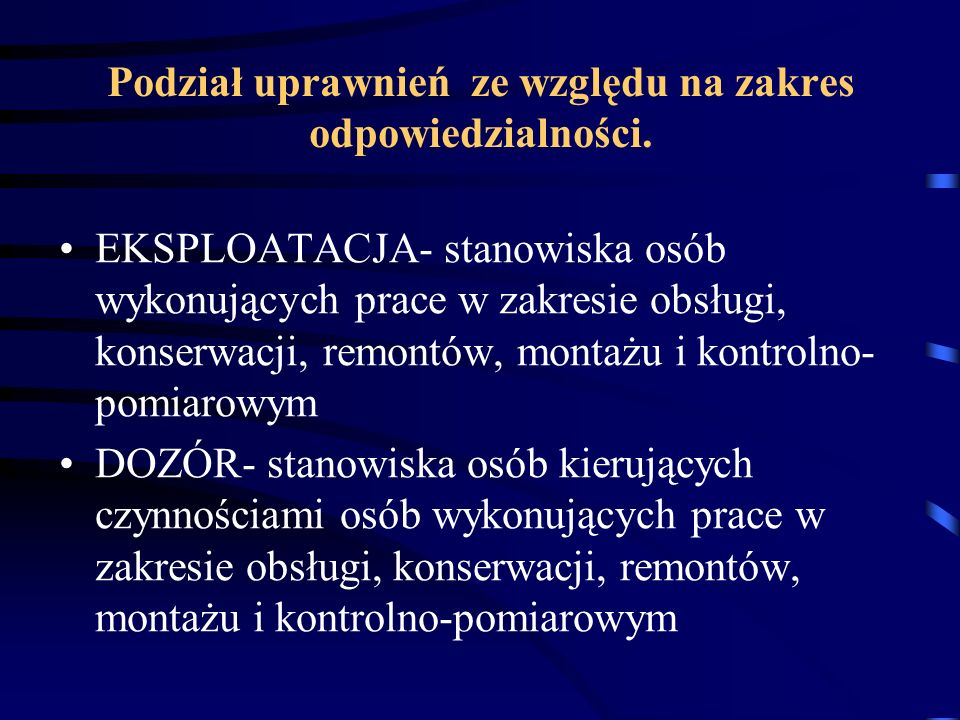 Przekrój oddzielnych przewodów PE (tzn.