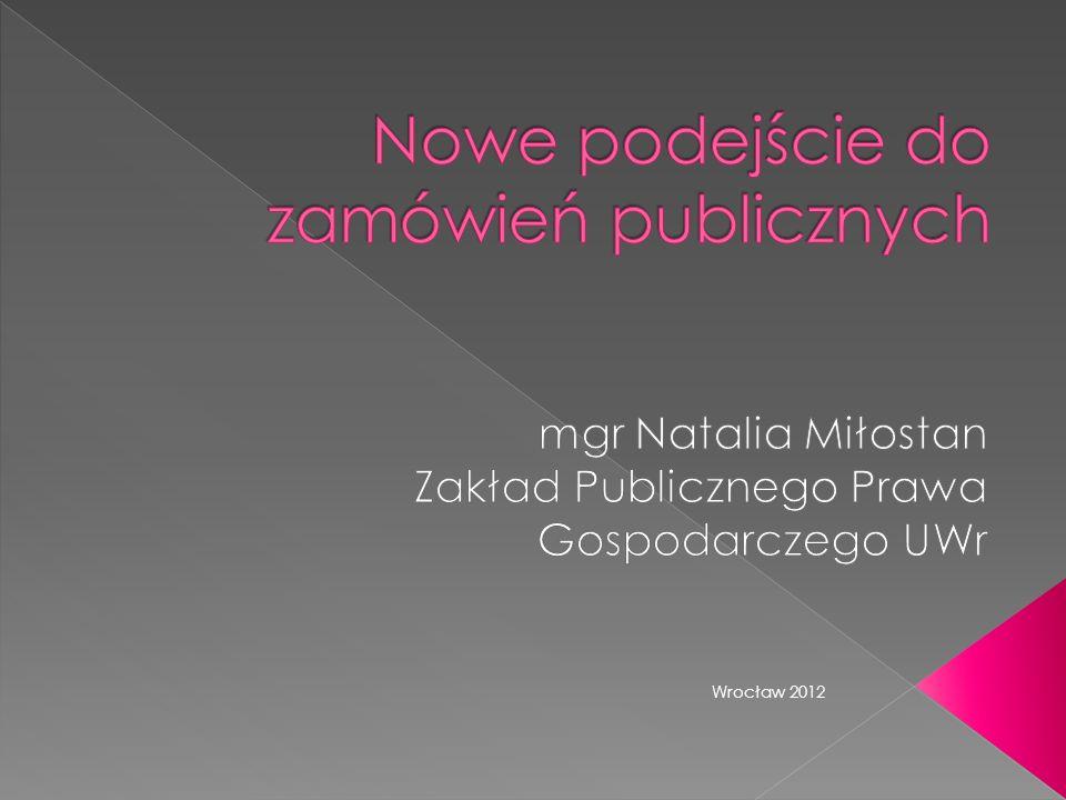 1.Zamówienia publiczne przyjazne innowacjom 2. Zielone zamówienia publiczne 3.