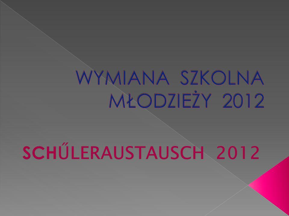 W dniu 24.09.2012 o godzinie 18:30 serdecznie powitaliśmy w naszym gimnazjum grupę uczniów wraz z nauczycielami i opiekunami z Pfeffenhausen, którzy przybyli w związku z organizowaną przez naszą szkołę polsko-niemiecką wymianą młodzieży.