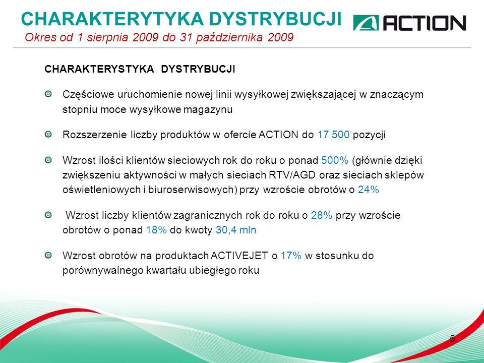 DELIKATESY INTERNETOWE A.pl Ponad 100% wzrost zamówień kwartał do kwartału Ponad 100% wzrost liczby klientów w stosunku do analogicznego okresu poprzedniego roku Rozszerzenie oferty o nowe grupy tematyczne: - dieta - kosze prezentowe - gotowe posiłki 6 E- COMMERCE Okres od 1 sierpnia 2009 do 31 października 2009 PROJEKT gram.pl Rozpoczęcie dystrybucji towarów z magazynu ACTION Migracja serwisu Gram.pl z 16 serwerów hostowanych w USA na 4 serwery Actina w infrastrukturze klastrowej Rozpoczęcie dystrybucji gier konsolowych we współpracy bezpośredniej z Microsoft Polska i Sony Computer Entertainment Polska