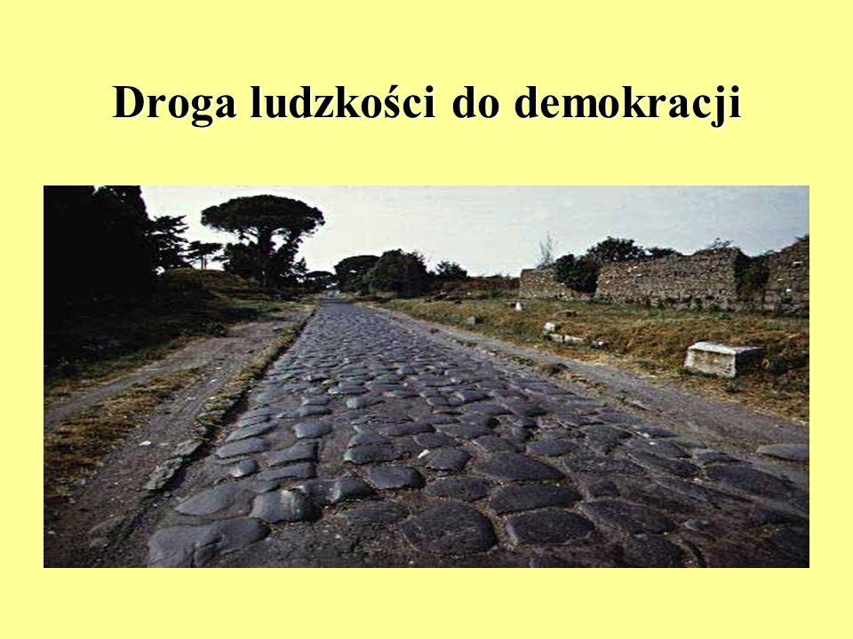 Droga ludzkości do demokracji