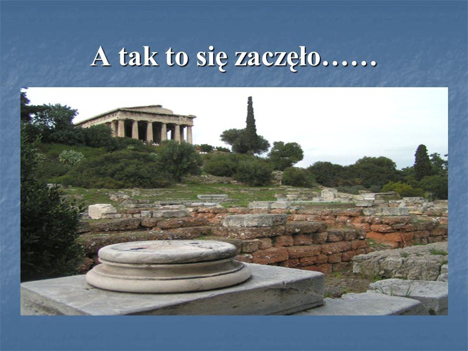 Demokracja narodziła się w starożytnych Atenach na przełomie VI i V w.