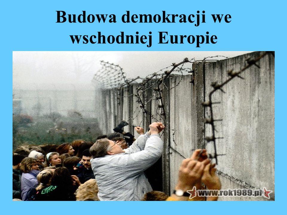 Budowa demokracji we wschodniej Europie