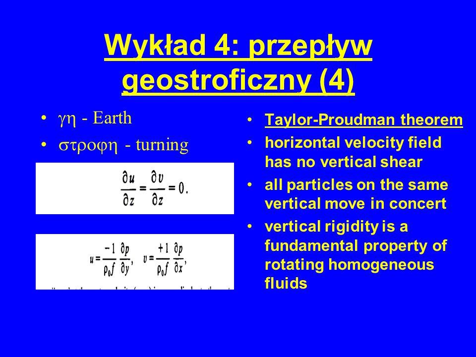 Wykład 4: przepływ geostroficzny-dno dowolne (14)
