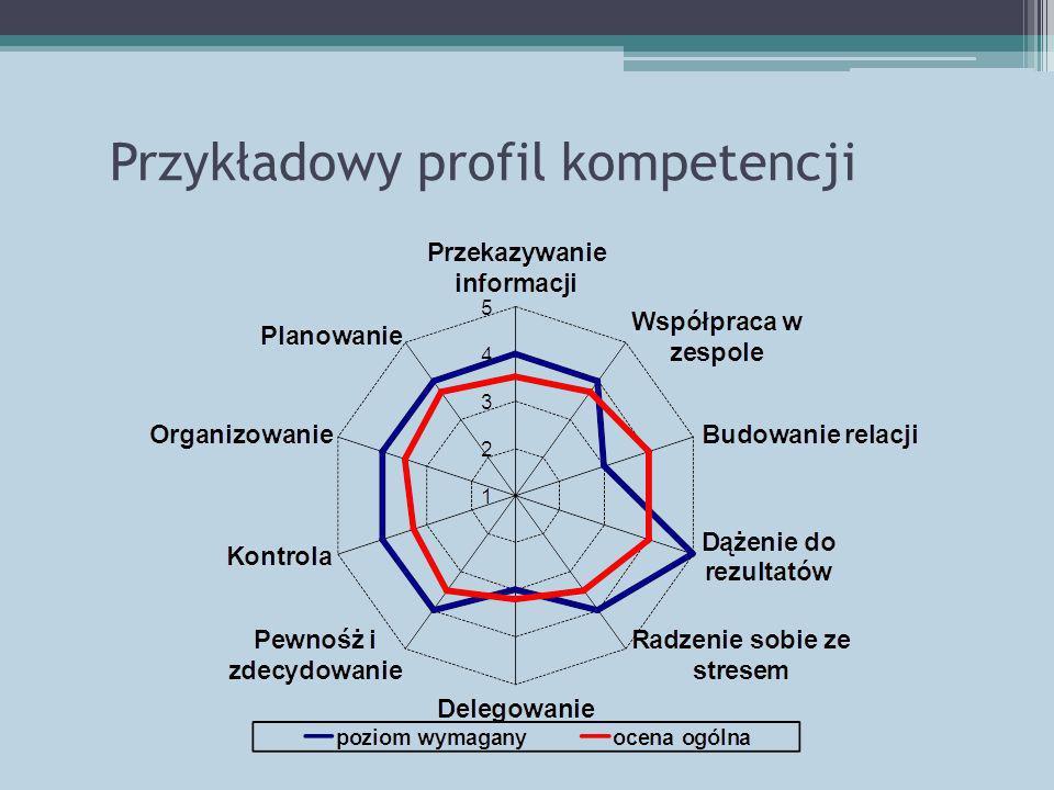 Przykładowy profil kompetencji