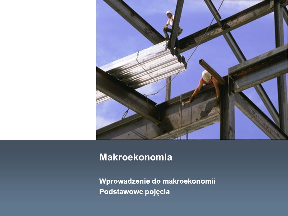 Wprowadzenie do makroekonomii.