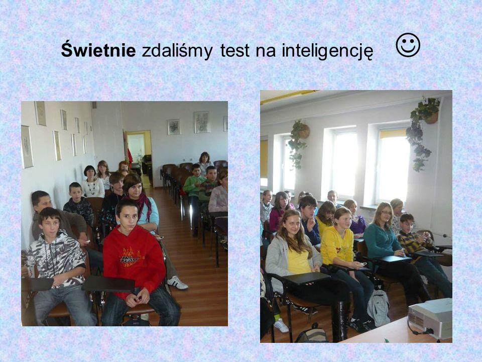 Świetnie zdaliśmy test na inteligencję