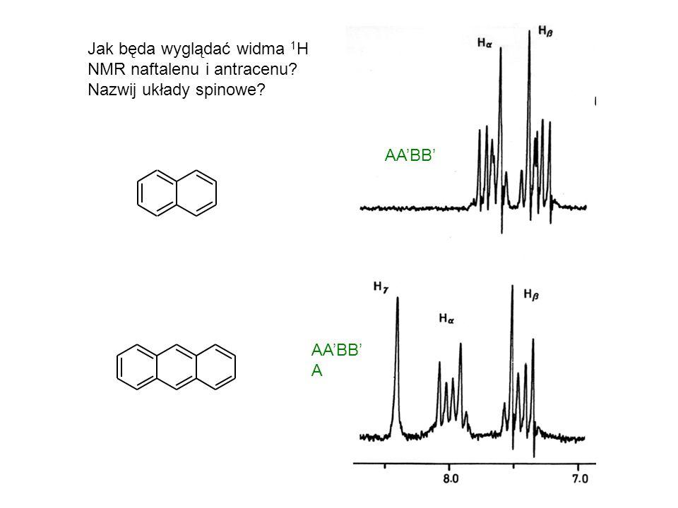 Jaką multipletowość będzie miał sygnał grupy -CH 2 - w aldehydzie propionowym? CH 3 -CH 2 -C=O H