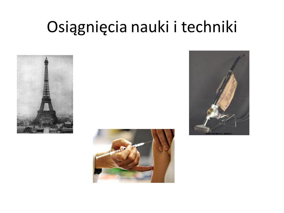 Osiągnięcia nauki i techniki