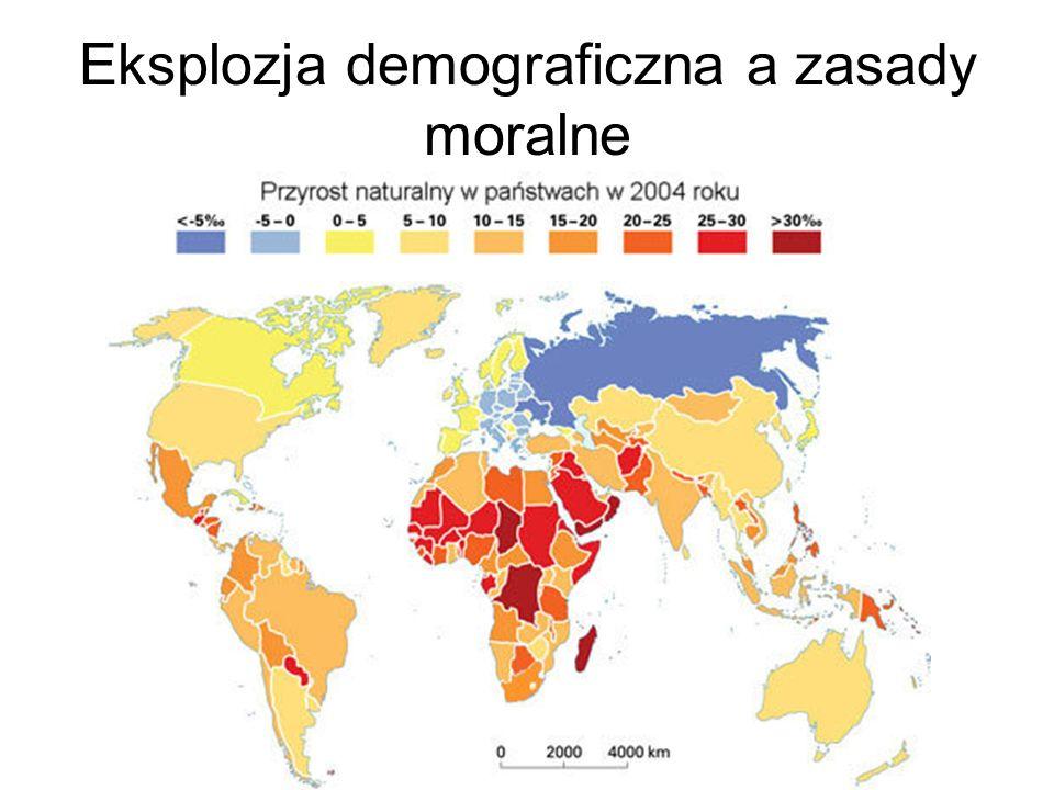 Eksplozja demograficzna a zasady moralne
