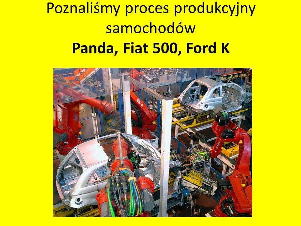 Poznaliśmy proces produkcyjny samochodów Panda, Fiat 500, Ford K