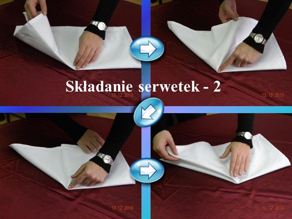 Składanie serwetek - 2