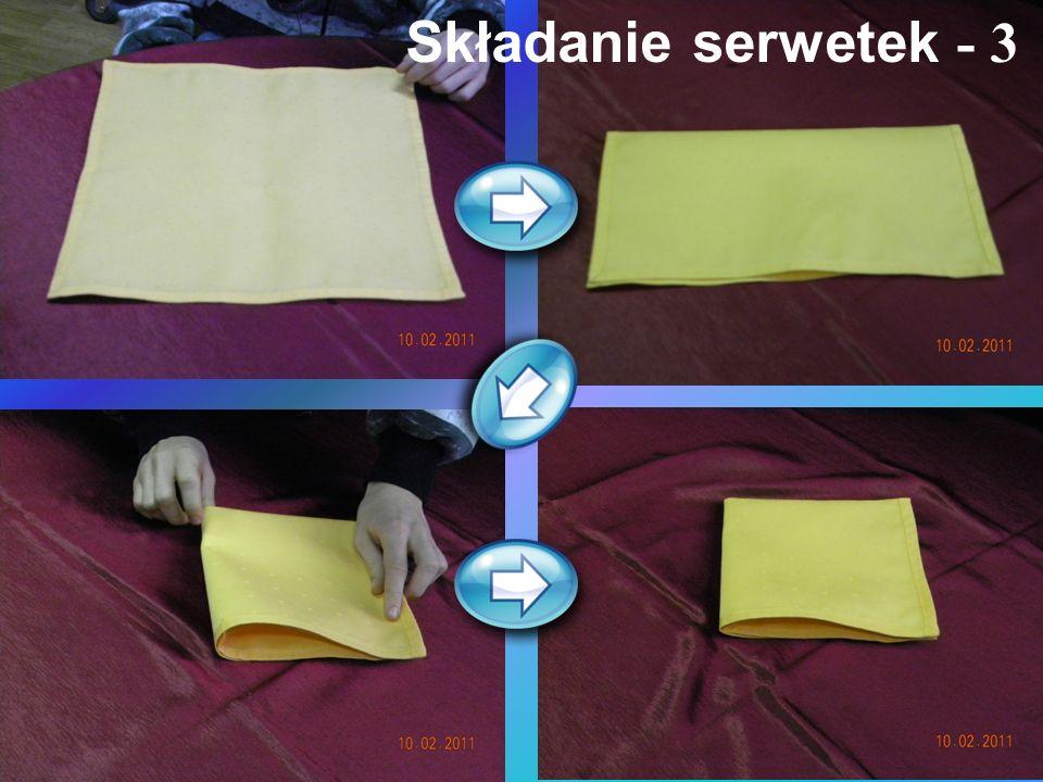 Składanie serwetek - 3