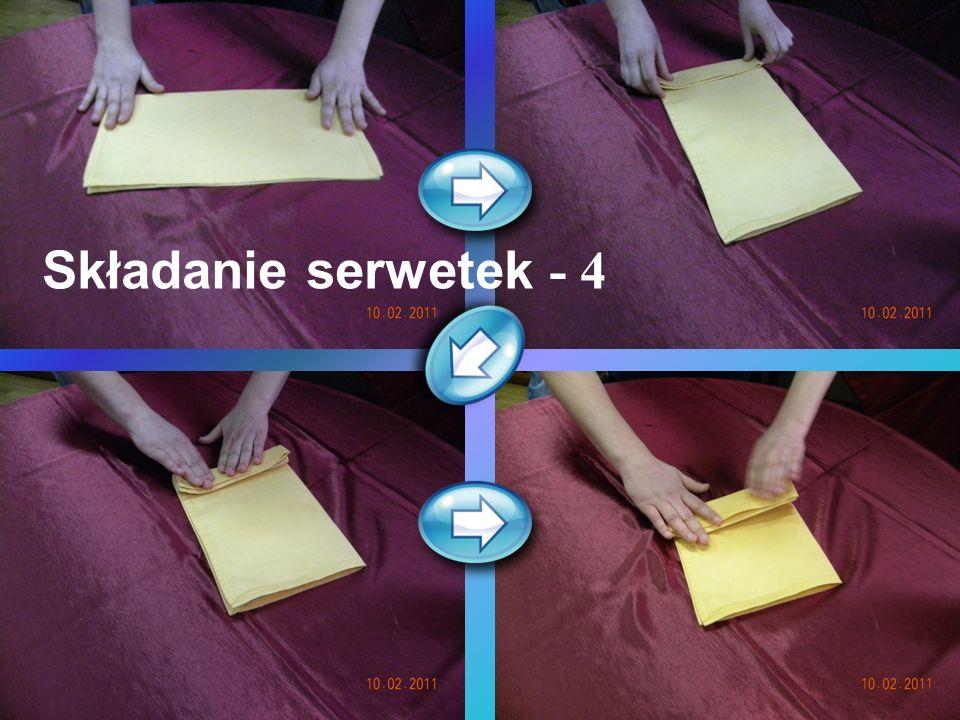 Składanie serwetek - 4