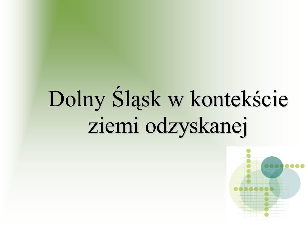 Aktualna mapa Dolnego Śląska