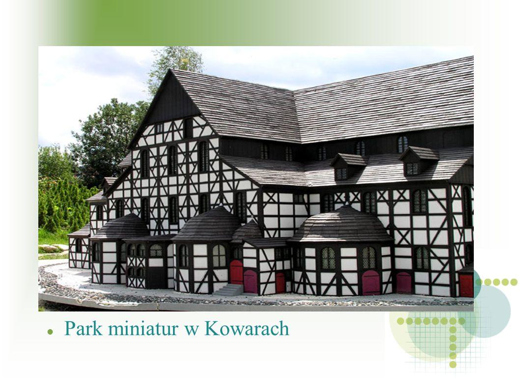 Park miniatur w Kowarach