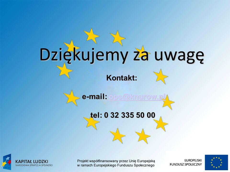 08-11-21 Dziękujemy za uwagę Kontakt: e-mail: ops@knurow.pl ops@knurow.pl tel: 0 32 335 50 00 tel: 0 32 335 50 00
